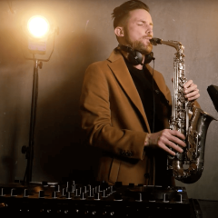 Commercial House Mix 2020 - Saxophone DJ