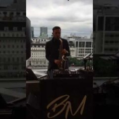 London Rooftop Sax DJ