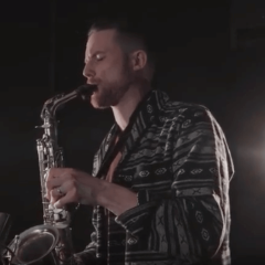 Bruno Mars - Versace On The Floor (Sax Cover Brendan Mills)